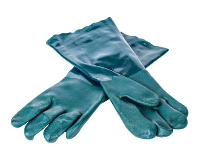 Gloves for sandblasting cabin ILB