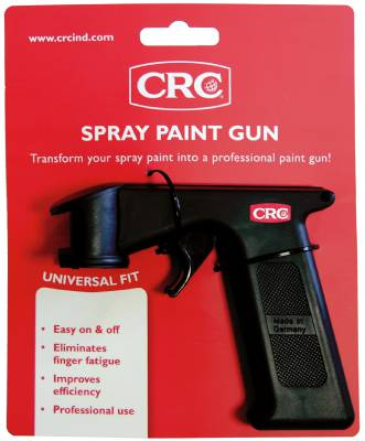 Spray gun and nozzles CRC