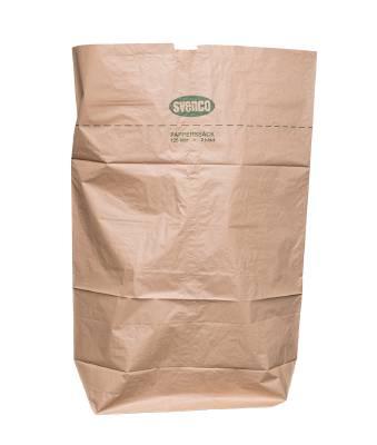 Rubbish sack paper 2-layer