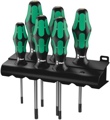 Screwdriver set Wera 367/6 Torx