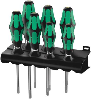Screwdriver set Wera 367/7 HF Torx