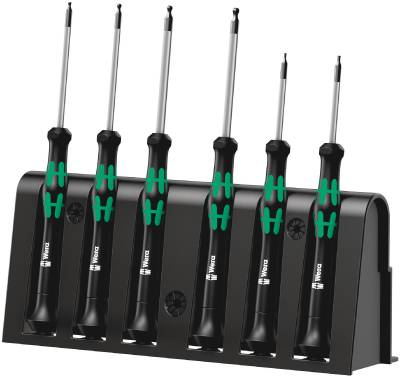 Mini screwdriver set Wera Micro 2052/6