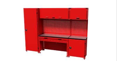 Hyllesystem Teng Tools 1001 deler - XL