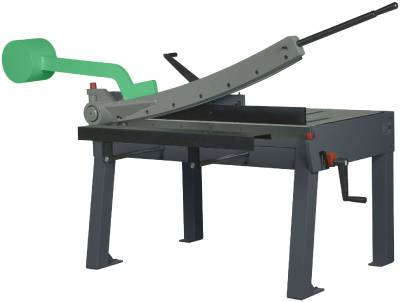Power shears hand operated cutting length 1020-1270 mm HM PX1000 and PH1000