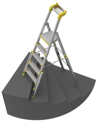 Trapphusstege Wibe Ladders 55S