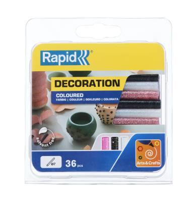 Glue stick coloured Rapid