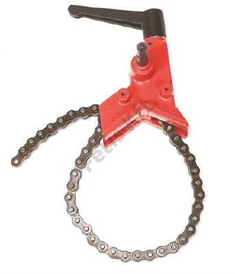 Chain pipe holder for tiger saw Ridgid