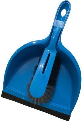 Dustpan and brush set, short handle KRON