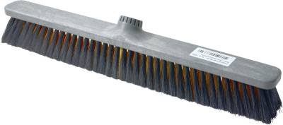 Broom, hard fiber and plastic back KRON