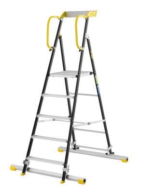 Trappstege Wibe Ladders 90P ink stegfot