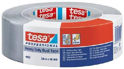 Silver tape - construction tape tesa 4663