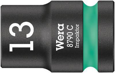 Impact socket. With 1/2' drive Wera