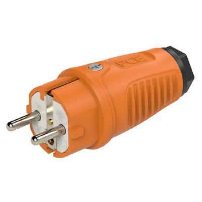 Plug orange Grunda