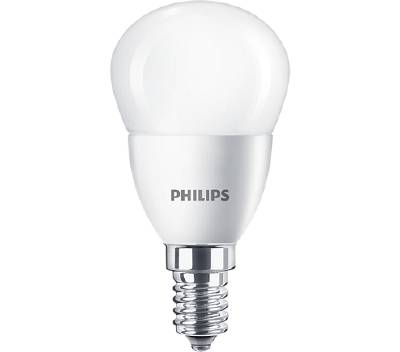 LED-lampa E14 (frostad) Philips