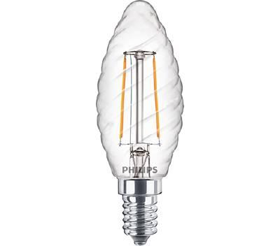 LED-kynttilälamppu ST35 E14 kirkas Philips