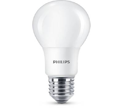 LED-lampa E27 (frostad) Philips