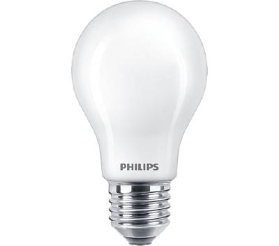 Klassisk glödlampa (LED) E27 (frostad) Philips