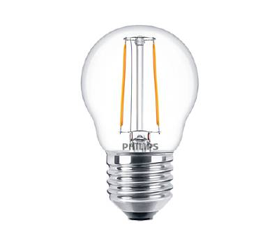 Klassisk LED-lampa E27 (klar) Philips