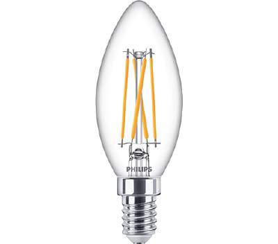 Klassisk LED-glödlampa E14 (dimbar) Philips