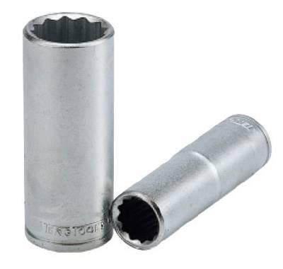 Hylsa. Med 3/8' fyrkantsfäste. Teng Tools M38021212-C / M38022412-C