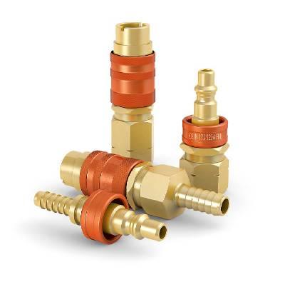 Quick connect couplings series 172 LP-Gas orange Cejn