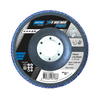 Flap disc Norton X-Treme Pro