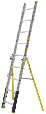 Anliggande enkelstege PROF+ Wibe Ladders