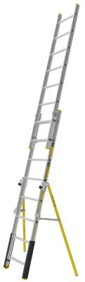 Double extension ladder PROF+ Wibe Ladders