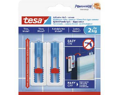 Adhesive nail canvas for tiles & metal Tesa