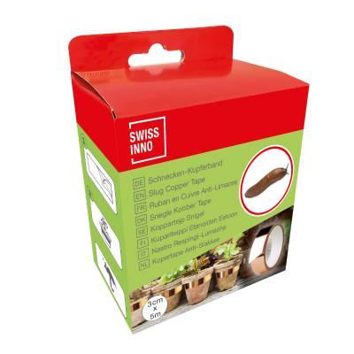 Slug adhesive copper tape