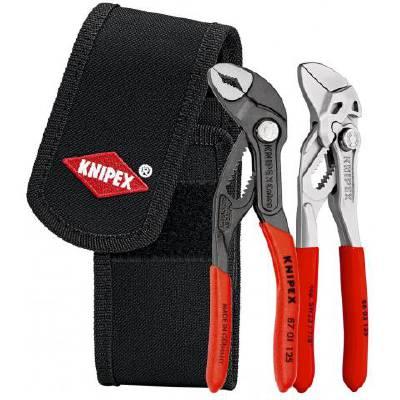 Tångsats med minitänger i Knipex bältesväska