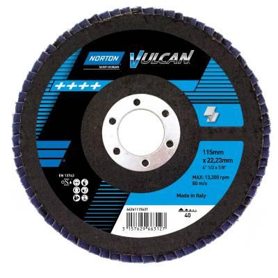Flap discs Norton Vulkan Plastic