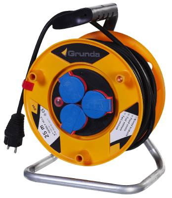 Cable reel with fixed centre, 3V FC H07RN Grunda