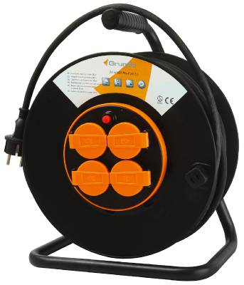 Cable reel with fixed center 3G2.5 F Grunda