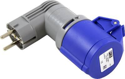 Övergångsadapter IP20 Schuko-CEE