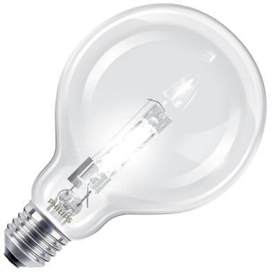 Halogenlampa glob E27