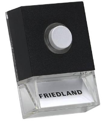 Tryckknapp Friedland Pushlite D723, D723W