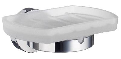 Holder with soap dish Smedbo Home 342