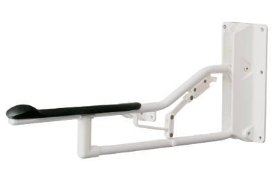 Toilet armrest Optima 4, lockable Etac