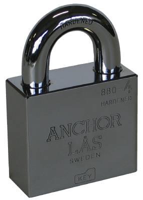 Hänglås Anchor klass 1, 2, 3 och 4