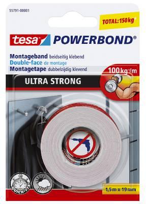 Monteringstejp Powerbond Ultra tesa