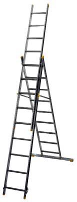 Kombistege 3-delad Wibe Ladders Prof+