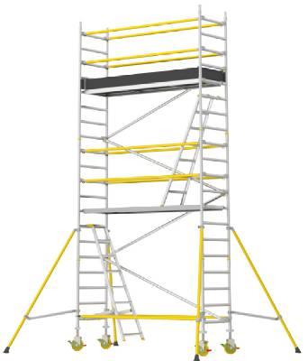 Rullställning smal Wibe Ladders RT-750XR