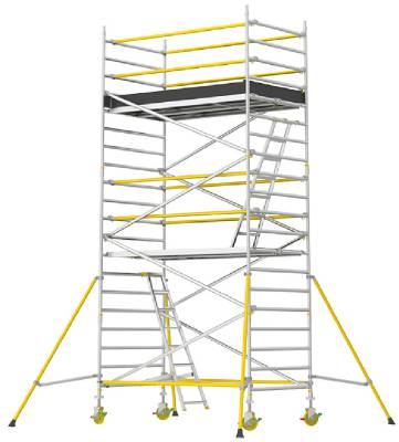 Rullställning bred Wibe Ladders RT-1400XR