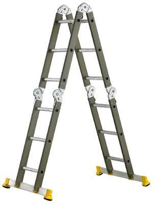 Ledad kombinationsstege Flexi Prof Wibe Ladders Prof