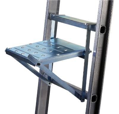 Flyttbart ståplan till stegar Wibe Ladders