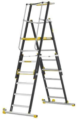 Arbetsplattform HAP Wibe Ladders Prof+