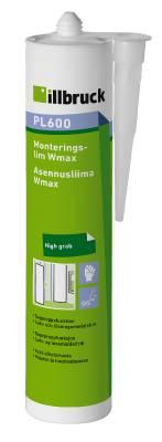 Monteringslim PL600 Wmax