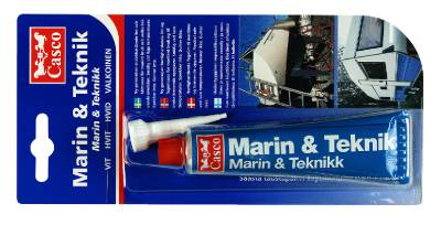 Lim- och fogmassa Casco Marin och Teknik