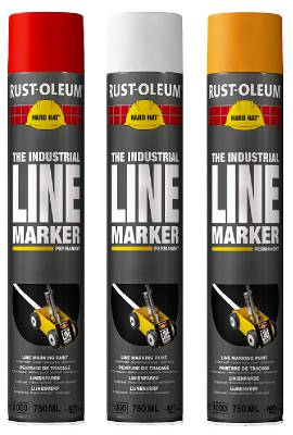 Linjemarkeringsfärg Rust-Oleum Hard Hat 750 ml
